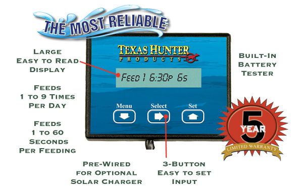 Texas Hunter Directional Feeder Timers