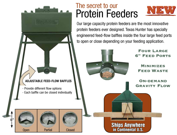 Texas Hunter Protein Feeder